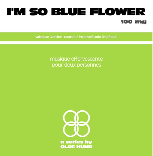 I'm so Blue Flower, 100 mg