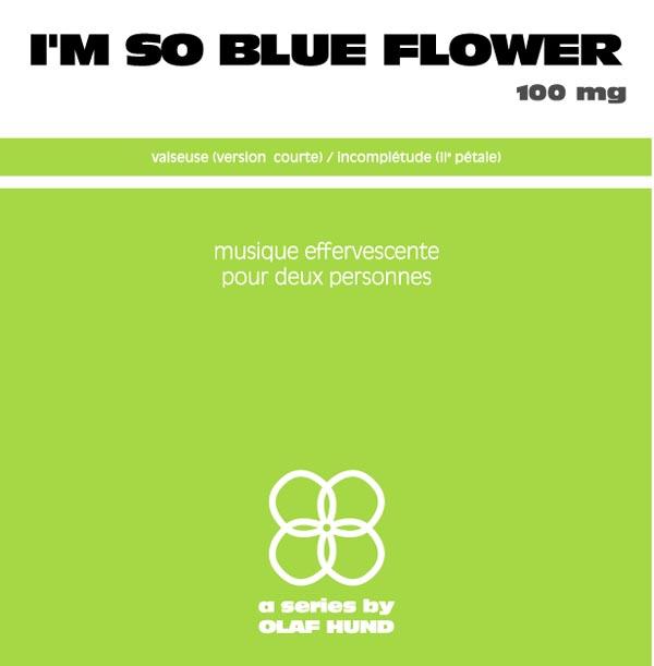 I'm so Blue Flower, 100 mg