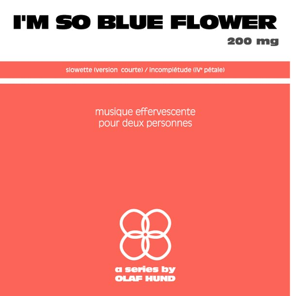 I'm so Blue Flower, 200 mg