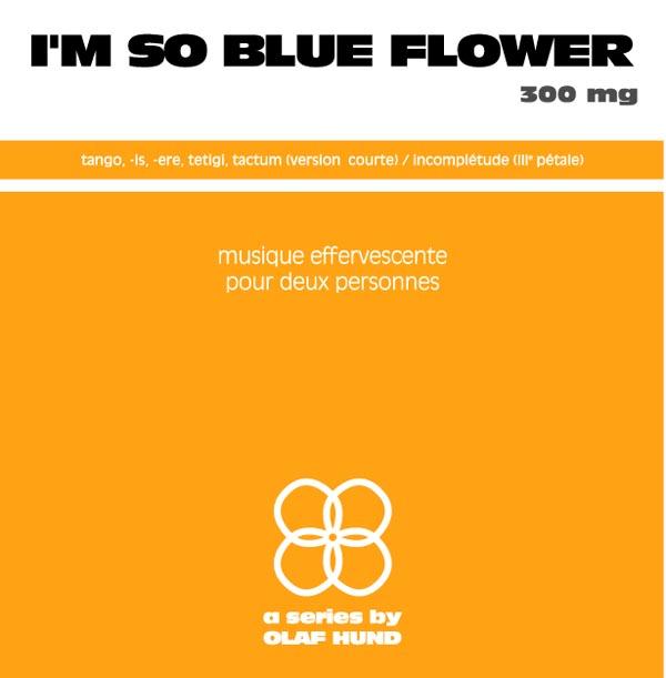 I'm so Blue Flower, 300 mg