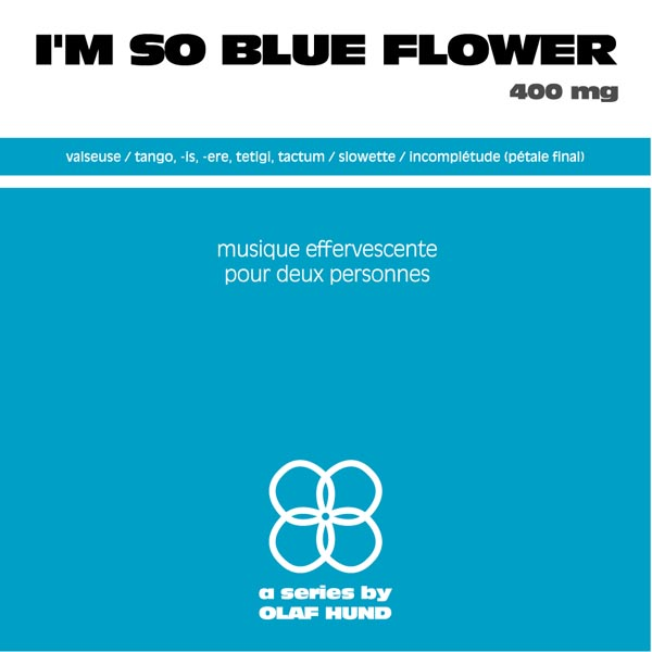 I'm so Blue Flower, 400 mg
